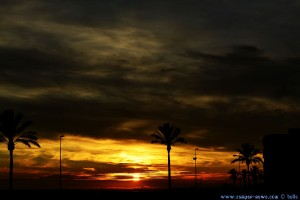 Sunset at Cunit Playa – Spain