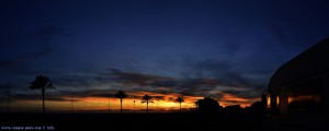 Panorama-Bild - Sunset at Cunit Playa – Spain