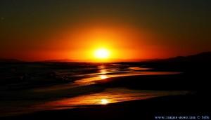 Sunset at Platja de l'Eucaliptus – Spain