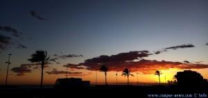 SmartPhone neffos Kamera - Sunset at Cunit Playa - Spain