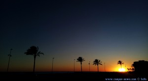 SmartPhone neffos Kamera - Sunset at Cunit Playa - Spain
