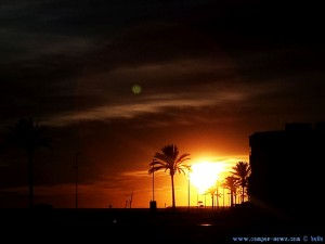 SmartPhone neffos Kamera - Sunset at Cunit Playa – Spain