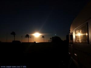 SmartPhone neffos Kamera - Sunset at Cunit Playa – Spain – 1
