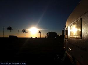SmartPhone neffos Kamera - Sunset at Cunit Playa – Spain - 2
