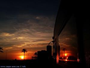 SmartPhone neffos Kamera - Sunset at Cunit Playa – Spain