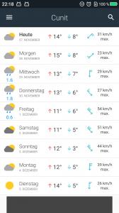 Wetter-App