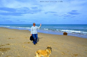 Hallo sagt: Heidi am Platja L'Almadrava – Spain
