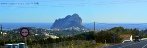 Penyal d'Ifac bei Calpe – Spain
