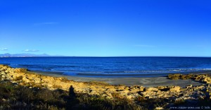 Kleine, namenlose Bucht nahe Platja del Carabassí - Santa Pola – Spain