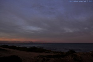 17:35 - Faszinierender Himmel über Alicante – Spain