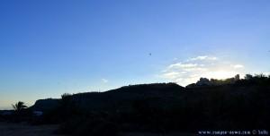 Gleitschirmflieger am Monte Faro - Santa Pola – Spain