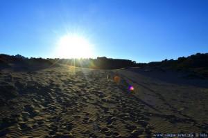 Wir erklimmen die Düne - Playa de Los Arenales del Sol – Spain