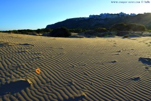 Unberührter Sand in den Dünen - Playa de Los Arenales del Sol – Spain