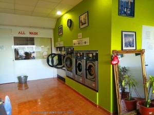 "Laundry ""All Wash"" in Monte Faro / Gran Alacant - Spain"