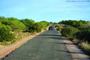 Auf dem Weg zum Faro del Cabo de Santa Pola (erinnert uns an die N1 von Marokko in den Süden!) - Spain