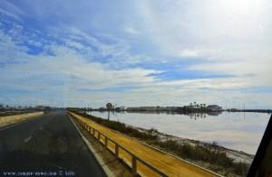 Auf dem Weg zum Playa de Torre Derribada - San Pedro del Pinatar – Spain