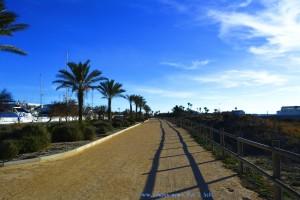 Auf dem Weg zum Restaurant Mar de Sal - San Pedro del Pinatar – Spain