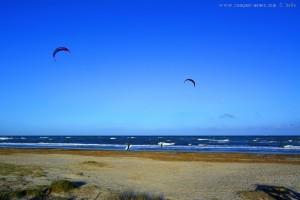 Kiter am Playa de Torre Derribada - San Pedro del Pinatar – Spain