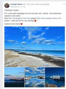 Über 1000 Bilder im Album Spanien bei Facebook!