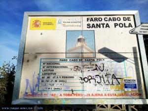 Am Faro del Cabo de Santa Pola – Spain – 137m