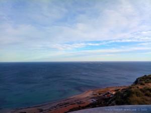 Insel Tabarca vom Faro del Cabo de Santa Pola - Spain - 137m