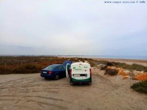 Erste Hilfe am Playa de Torre Derribada - San Pedro del Pinatar - Spain