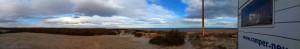 Fette Wolken am Playa de Torre Derribada - San Pedro del Pinatar – Spain