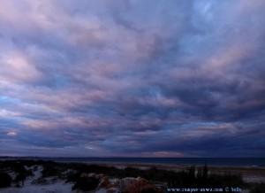 Sunset at Playa de Torre Derribada - San Pedro del Pinatar - Spain