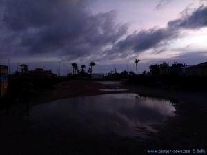Wasser von links - Playa de Torre Derribada - San Pedro del Pinatar - Spain