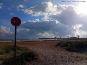 Pustet der Wind die Wolken weg? - Playa de Torre Derribada - San Pedro del Pinatar – Spain