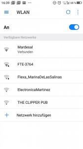 Open WiFi at the Restaurant Mar del Sal - San Pedro del Pinatar - Paya de la Llana – Spain