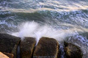 Langzeitbelichtung - Wellen am Playa de las Palmeras - Spain