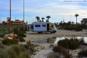 Lagoa de Playa de Torre Derribada - Pedro del Pinatar – Spain