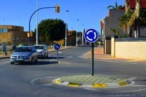 Lustiger Kreisverkehr in San Pedro del Pinatar - Spain