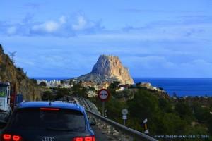 Auf der Fahrt nach Calpe – Spain