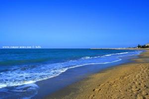 Bis zum Wellenbrecher wollen wir gehen - Platja L'Almadrava - Dénia – Spain