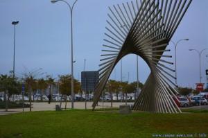 Kreisverkehr in Dénia – auf dem Weg zum Mercadona - Spain