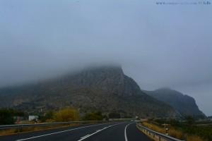 Dunkel schaut's aus - On the Road in Spain