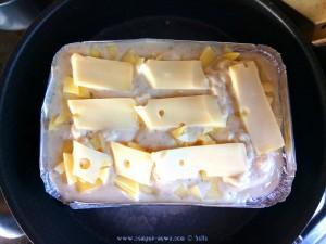 Dinner heute - Kartoffelgratin mit viel Käse