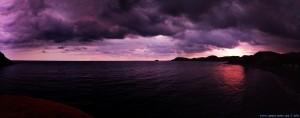 Schon wieder ein Gewitter am Playa de las Palmeras – Spain?