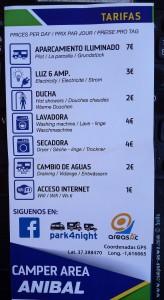 Camper Area Anibal - Calarreona – Spain