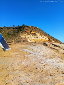 Dein Platz ist nun frei Hans - Playa de las Palmeras – Spain