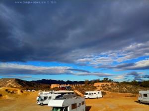 Sonne und dicke fette Wolken am Playa de las Palmeras - Spain