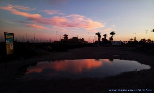 Sunset at Playa de Torre Derribada - Pedro del Pinatar – Spain
