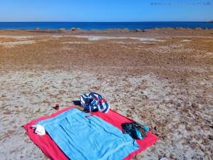 Die Strand-Saison ist eröffnet - Playa de Torre Derribada - Pedro del Pinatar – Spain