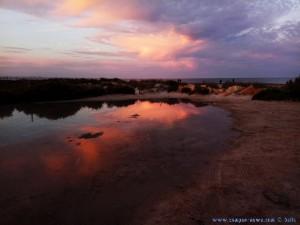 Sunset at Laboa de Playa de Torre Derribada - Pedro del Pinatar – Spain