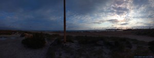 Dicke fette Wolken und kräftiger Wind am Playa de Torre Derribada - Pedro del Pinatar – Spain