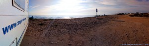 Ein sonniger Tag begrüsst uns am Agua Amarga Playa – Spain