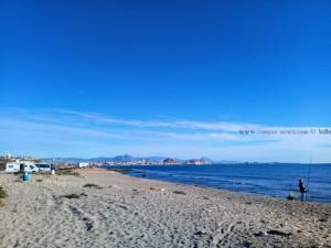 Agua Amarga Playa - Spain - mit Blick auf Alicante