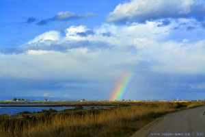 Regenbogen im Delta de l'Ebre - Delta del Ebro – Spain
